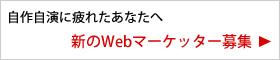 Webマーケッター募集